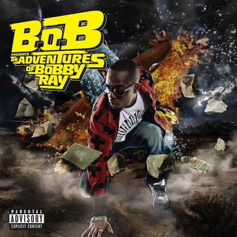 B.O.B.'s new album cover has been released. The album entitled B.O.B.